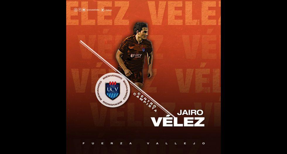 Jairo Vélez procedente de Cafetaleros de México. (Foto: Twitter)