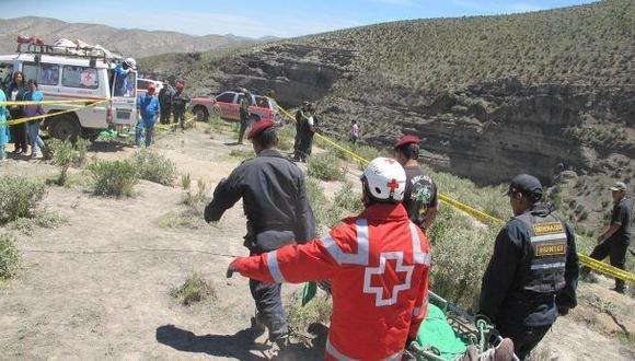 Cusco: dos policías quedaron heridos de gravedad tras accidente