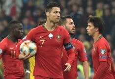 Portugal cayó 2-1 ante Ucrania en la noche de consagración goleadora de Cristiano Ronaldo | VIDEO