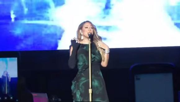 YouTube: Mariah Carey decepcionó a sus fans en Jamaica (VIDEO)