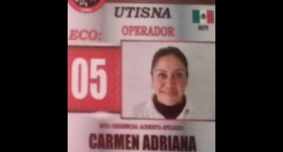 Adriana, madre de 4 hijos, 3 vivos, es taxista en la Ciudad de México desde hace varios años. (Foto: Twitter)