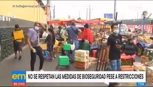 Coronavirus en Perú: reportan caos en el Mercado de Frutas tras levantamiento de cuarentena