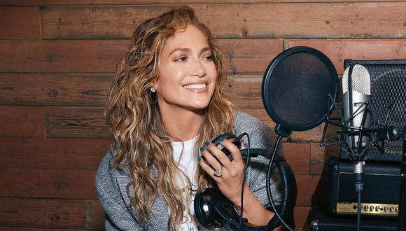"""Jennifer Lopez celebra el éxito de su canción """"In the Morning"""". (Foto: Instagram / @jlo)."""