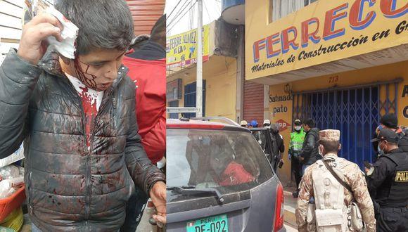Puno: Familia golpea a tres policías durante intervención por no cumplir con cuarentena.