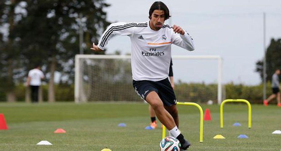Sami Khedira vuelve a ser convocado en el Real Madrid
