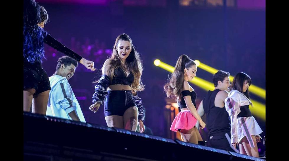 Espectáculo musical en los Premios Juventud (Foto: Difusión)