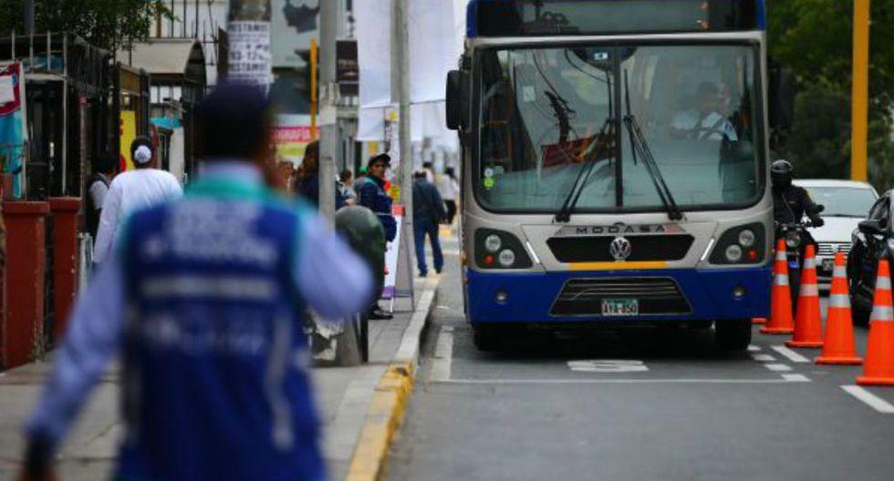 Se fiscalizará  el tránsito en cinco intersecciones del eje vial Tacna-Garcilaso-Arequipa. (Foto: Hugo Curotto)