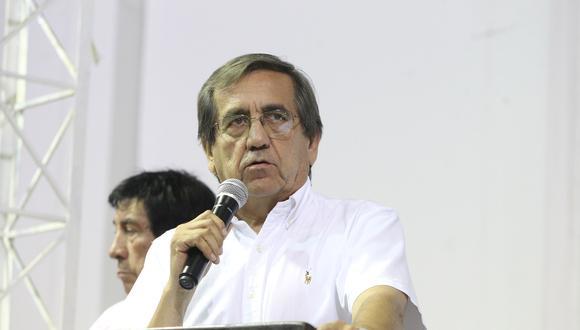 """Jorge del Castillo dijo que el Partido Aprista debe hacer el esfuerzo para volver a la institucionalidad, de manera """"limpia y transparente"""". (Foto: Archivo El Comercio)"""