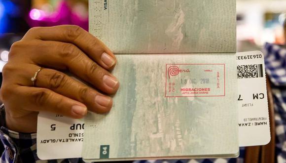 El sello de Marca Perú será usado inicialmente a través de seis puestos fronterizos y migratorios. (Migraciones)