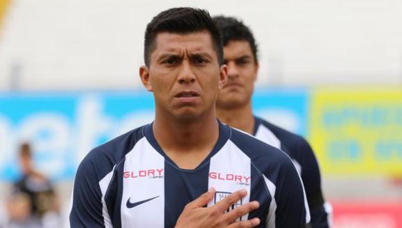 Rinaldo Cruzado dejó de ser jugador de Alianza Lima tras el descenso a la Liga 2 en el 2020. (Foto: Alianza Lima)
