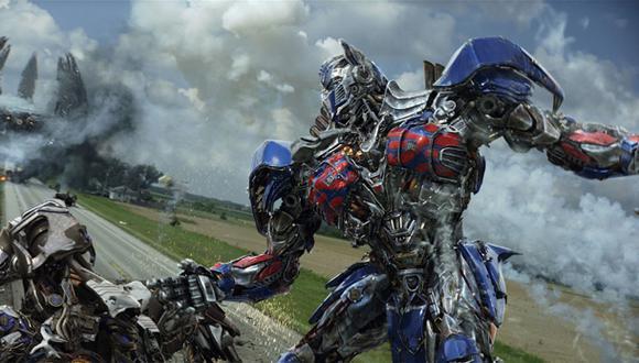 """""""Transformers 4"""" recaudó 100 millones de dólares en su debut"""