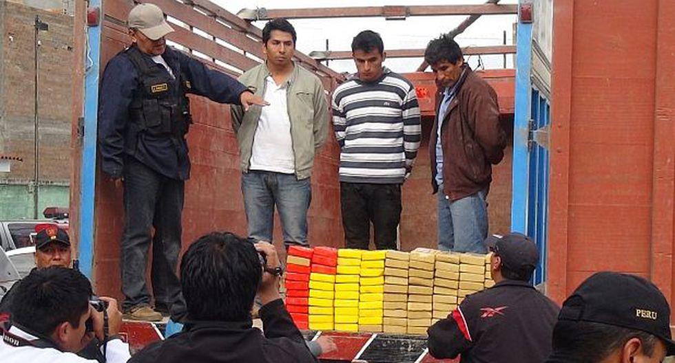 Huancayo: decomisan cocaína por un valor de 3 millones de euros