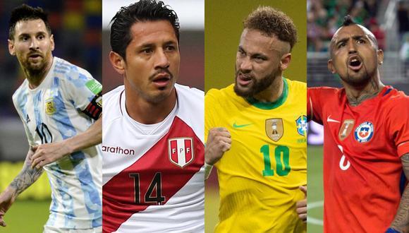 Conoce la lista de convocados de las diez selecciones participantes a la Copa América 2021.