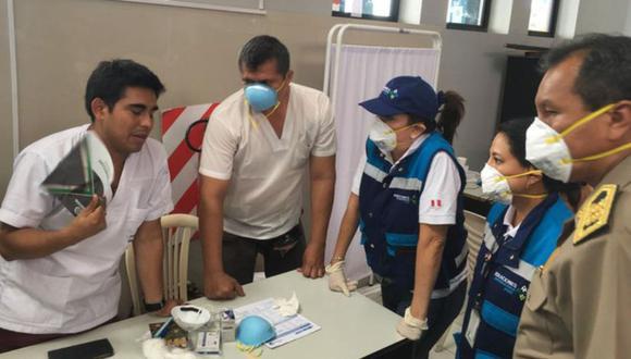 Perú. Personal de Migraciones cumple con el protocolo dispuesto por el Ministerio de Salud. (Migraciones)