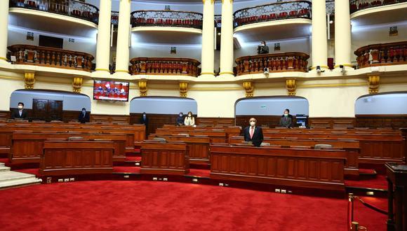 El pleno del Congreso en una sesión de esta semana. (Foto: Congreso).