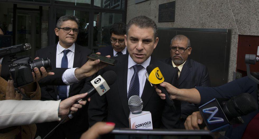 El fiscal Rafael Vela recibió la información. (Foto: Antonio Álvarez)