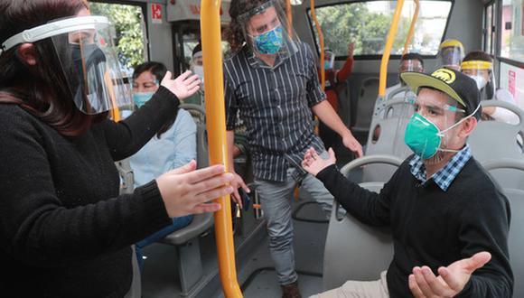 Existe un protocolo para atender los casos de acoso sexual dentro de las unidades de transporte público. (Foto: Ministerio de Transportes y Comunicaciones)
