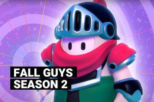 Fall Guys Knight Fever: todas las novedades que traerá la temporada 2