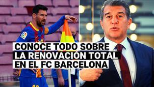 FC Barcelona: 14 bajas, refuerzos de calidad y un plan alrededor de Lionel Messi