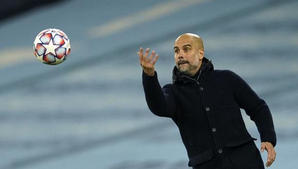 Pep Guardiola renovó contrato con Manchester City. (Foto: AP)