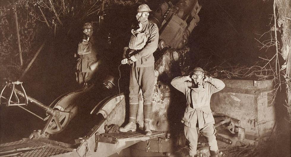 El primer ataque químico data del 22 de abril de 1915, cuando los alemanes liberaron 168 toneladas de cloro en el airepara asfixiar a 5.000 soldados franceses en Bélgica. (Foto: State Library of New South Wales en Flickr)
