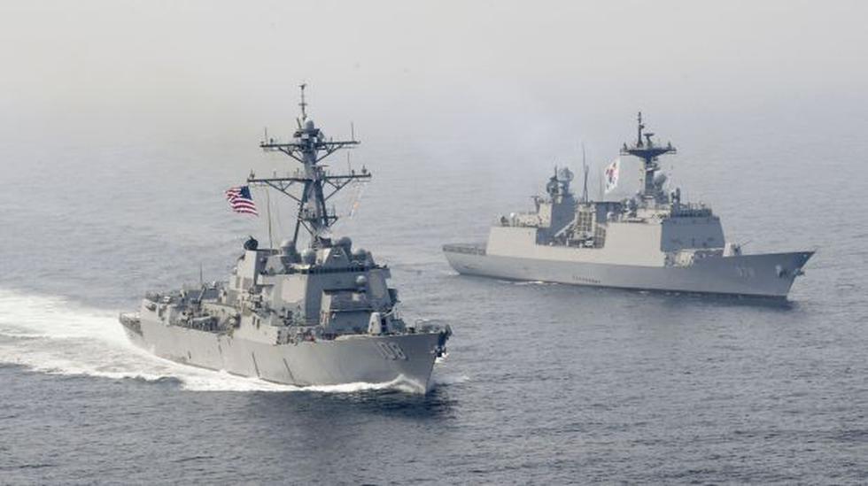 El portaaviones nuclear de EE.UU. avanza hacia Corea del Norte - 5