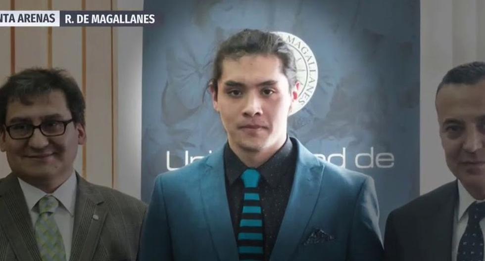 Ignacio Parada, de 24 años, cursaba quinto año de Ingeniería Civil Química de la Universidad de Magallanes. (Captura)