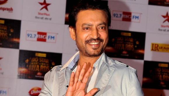 """Irrfan Khan, actor de Bollywood conocido por """"La vida de Pi"""", falleció a los 53 años. (Foto: AFP)"""