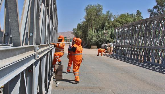 Se busca garantizar el mantenimiento rutinario y periódico de 959.7 kilómetros de vías nacionales y vecinales; así como de 18 puentes ubicados en la región. (Foto referencial)