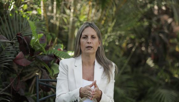 """María del Carmen Alva instó al Poder Ejecutivo a """"ponerse de acuerdo"""" y """"trabajar"""" para sacar al país de la crisis sanitaria y económica. (Foto: El Comercio)"""