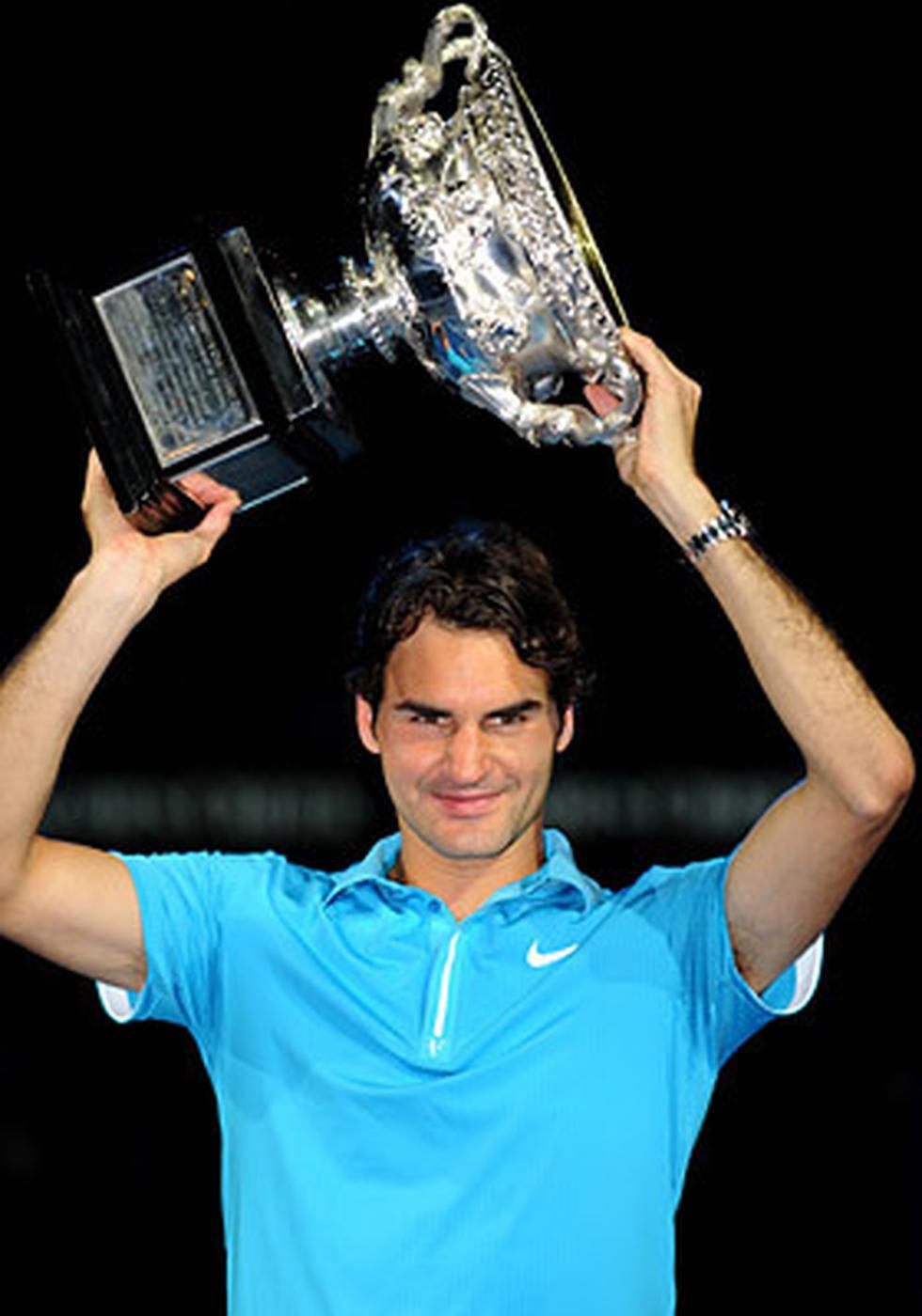 Roger Federer conseguiría el Australian Open del 2010.
