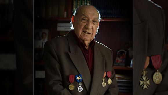 El 15 de enero de 1946 El Comercio informó del regreso de Jorge Sanjinez al Perú tras participar en la Segunda Guerra Mundial. (Foto: Juan Ponce)