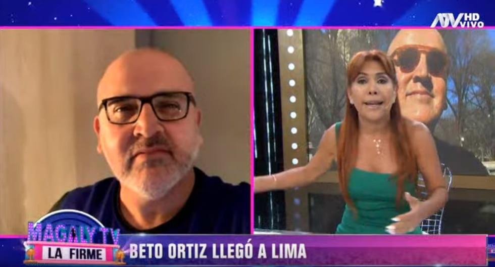 Beto Ortiz ya se encuentra en Perú y guarda cuarentena. (Foto: ATV)