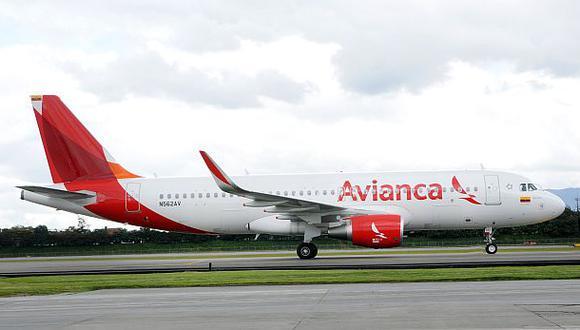 Tráfico de pasajeros de aerolínea Avianca sube 9,1% en febrero