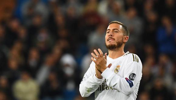 En Real Madrid estarían molestos con Eden Hazard, quien dejó la pretemporada del club blanco para sumarse a Bélgica, aunque no jugó ni un solo minuto con su selección. (Foto: EFE)