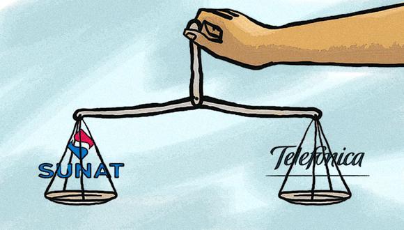 La inaplicación de intereses moratorios era el centro del litigio entre la Sunat y Telefónica. (Imagen: Marcelo Hidalgo / El Comercio)