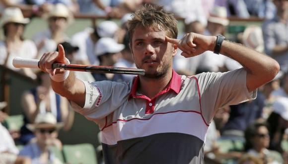 Wawrinka gana a Tsonga y jugará la final de Roland Garros