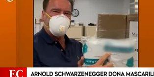 Arnold Schwarzenegger dona un millón de dólares para la compra de equipo médico