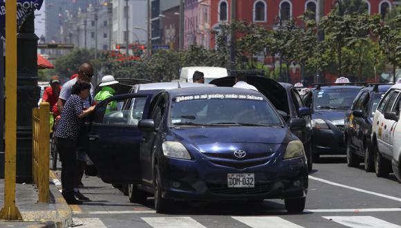 Fernando Cerna, director general de la Dirección General de Políticas y Regulación en Transporte Multimodal, explicó que el sector considera que esta ley es riesgosa y podría generar el aumento de accidentes de tránsito. FOTO: GEC