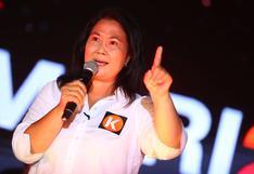 Los 2 escenarios de Keiko Fujimori: ¿por qué pelea su pase a la segunda vuelta?