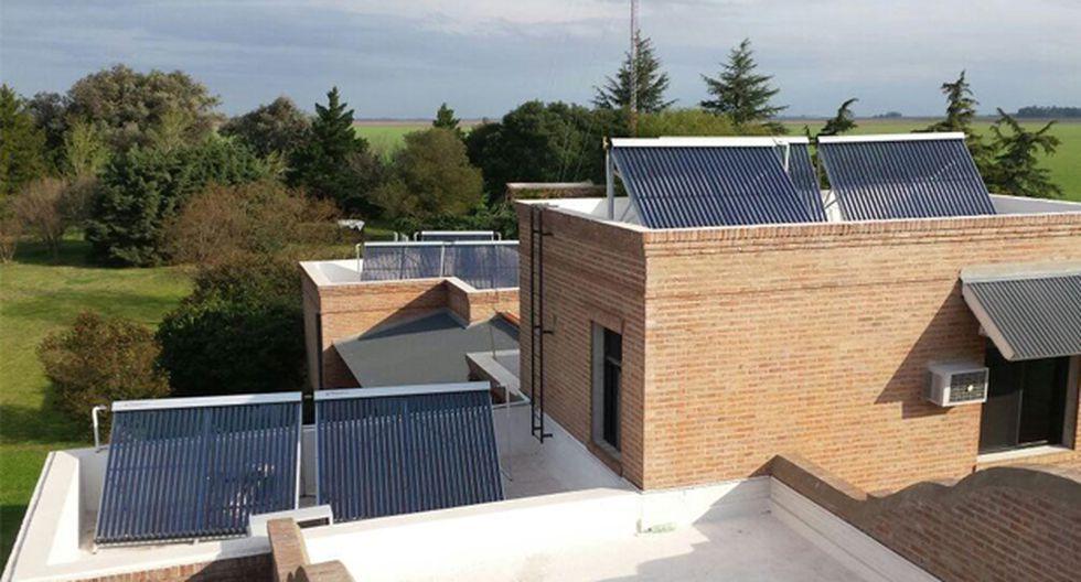 La calefacción solar es una buena alternativa, pues evita el consumo de las calderas. (Foto: Difusión)