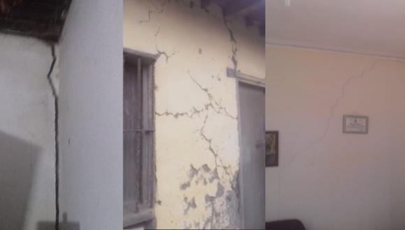 Arequipa: Sismo de 6.1 grados rajó viviendas y algunas terminaron inhabitables (Foto: COER - Arequipa)
