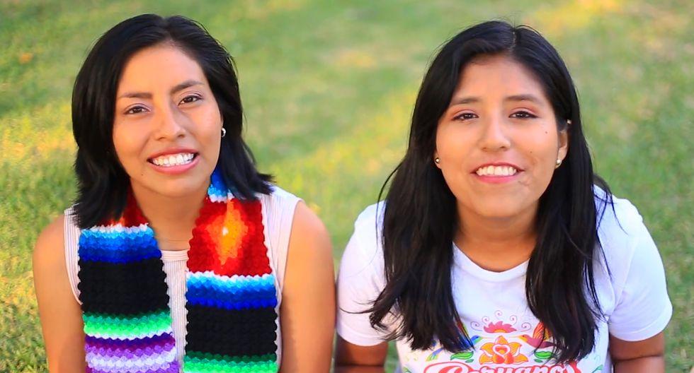 Todo suma a la hora de enseñar otro idioma, Nélida y Sheyla usan videos, canciones y diseños.(Foto: Traveleras /Facebook)