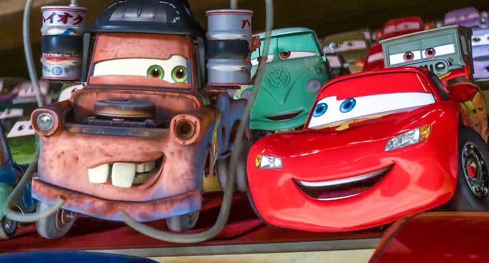 5. Cars: el prometedor corredor Rayo McQueen se sale del camino y llega a una peculiar ciudad de autos olvidados donde encontrará grandes amistades. En Netflix encontrarás la parte 1 y 2. (Foto: Difusión)