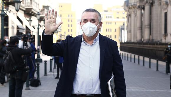 """Daniel Urresti lamentó que los candidatos """"izquierdistas"""" no respeten """"la presunción de inocencia"""" en materia de seguridad ciudadana. (Foto: Jesús Saucedo/El Comercio)"""
