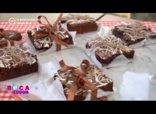 Tres minutos de dulzura: aprenda a preparar brownie marmoleado