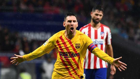 Messi podría continuar más tiempo en Barcelona. (Foto: AFP)