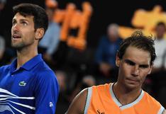 Novak Djokovic enfrentado a Rafael Nadal y Roger Federer tras dar 'golpe' a la ATP