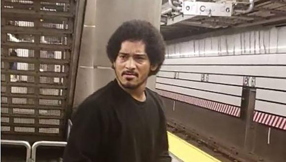 José Reyes fue identificado gracias al sistema de reconocimiento facial de la Policía de Nueva York. (@NYPDTransit).