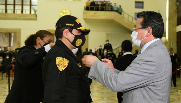 La designación de Cervantes como nuevo comandante general ha motivado las últimas renuncias. (Foto: Mininter)